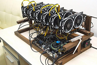 Обеспечение энергией оборудования для добычи крипты