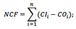 Формула денежных потоков