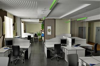 Основные помещения в офисе
